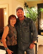 Joan Carol & Garth Brooks